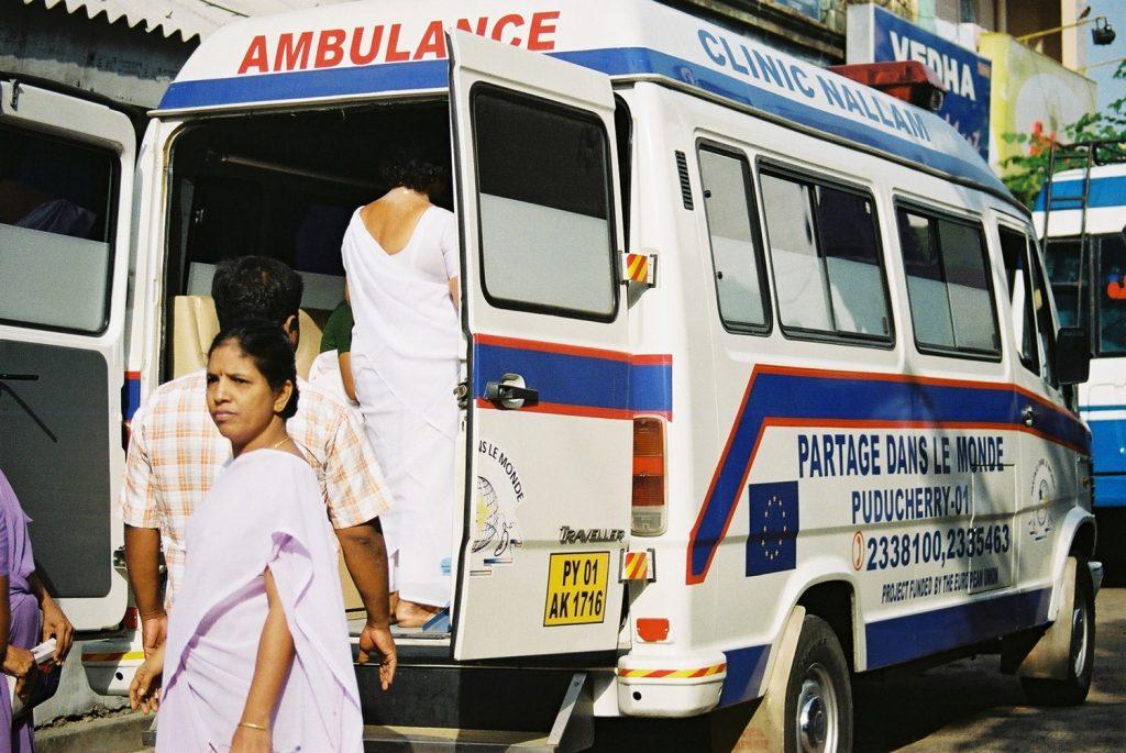 ambulance louée à clinic nallam